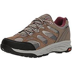 7d4f0faf3 Hi-Tec Women's V-Lite Wild-Fire Low I Waterproof Hiking Shoe, Taupe/Warm  Grey/Grape Wine, 080M Medium US