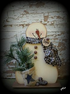 New 2016 #K242 Mr. Snowman is a simple little snowman that is a great seller at craft shows.  This pattern is $5.50 on my website.  BUT..if you buy any two patterns from my website you can get this pattern FREE by going to the Free Pattern Category and then select this pattern and Add to Cart.  Great pattern to use for smaller wood scraps and a great seller at shows because you can price him a little under $10!
