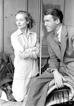 Jimmy Stewart and Carole Lombard photographed by Alfred Eisenstaedt, 1938