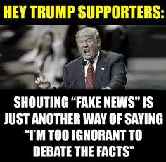 Trump fake news meme