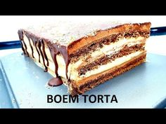 STARINSKA BOEM TORTA/ TORTA ZA SVE PRILIKE - YouTube Tiramisu, Cakes, Ethnic Recipes, Youtube, Food, Cake Makers, Kuchen, Essen, Cake