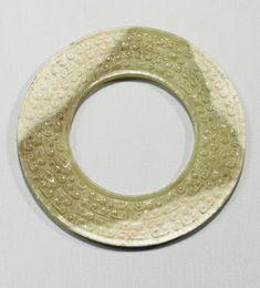 A jade disc (bi), Eastern Zhou Dynasty