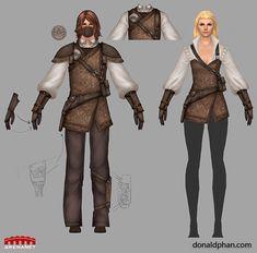 Guild Wars 2 Marksman Concept by ~YeeWu on deviantART Shooting Club, Guild Wars 2, Shield Maiden, Fashion Lighting, Phan, Fantasy Art, Concept Art, Character Design, Deviantart