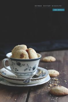 Nutmeg Butter Biscuits