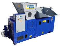 Styropress® - Briquettes produced at a rate of 30kg per hour. http://www.compact-and-bale.com/equipment/briquetting-presses/styropress/