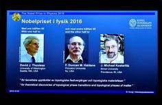 El Nobel de Física premia a tres británicos investigadores en Estados Unidos - Efecto Cocuyo