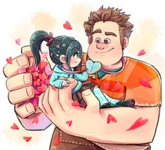 Wreck it Ralph Disney Pixar, Arte Disney, Disney Fan Art, Disney Animation, Disney And Dreamworks, Disney Style, Disney Love, Disney Magic, Disney Characters