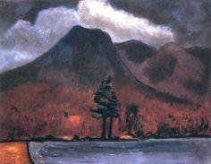 Marsden Hartley, 'Mount Katahdin'