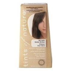 Tints of Nature Conditioning Permanent Hair Color 4.2 fl oz (120 m) No ammonia & limited harsh chemicals-- I'm trying it!