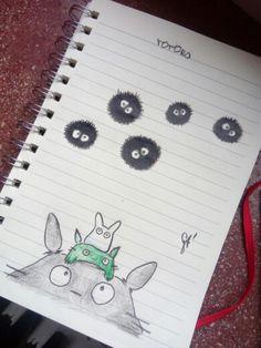 #totoro #drawing #draw #cute #kawaii