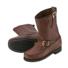 Just found this Brown Leather Boots - Sandanona Pull-On Boots -- Orvis on Orvis.com!