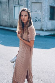 missguided rose gold midi dress prosecco and plaid