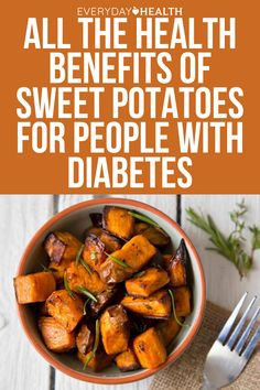 Vitamin A, fiber, and protein are three health benefits of sweet potatoes that can potentially help people with diabetes manage their blood sugar, lose weight, and reduce insulin resistance.