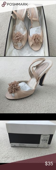 Marc Jacobs shoes Nude suede shoes - worn twice Marc Jacobs Shoes Heels