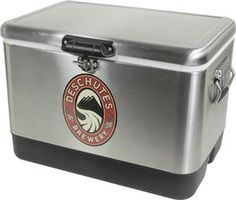 Keep your beer nice and cold in our stainless steel cooler. $160