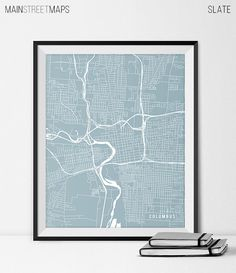 Columbus Ohio State Map Art Print Ohio State by MainStreetMaps https://www.etsy.com/listing/226640046/columbus-ohio-state-map-art-print-ohio?ref=shop_home_active_8
