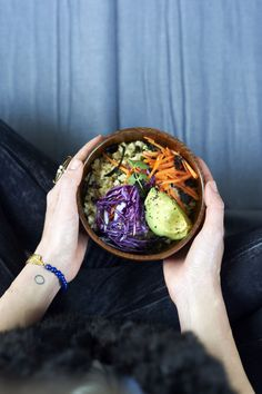 BEINSPIRED. macro bowl. #everydayrawdetox