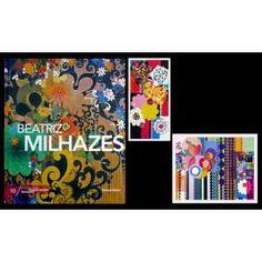 """BEATRIZ MILHAZES - Livro ricamente ilustrado com reproduções das obras de Beatriz Milhazes, e fonte de consulta sobre vida e obra da artista. """"Beatriz Milhazes é um dos grandes nomes da pintura contemporânea. Sua relevância é reconhecida não só no Brasil mas também no contexto internacional, pela presença em importantes museus, grandes exposições e casas de leilão. Expoente da chamada Geração 80, que na década de 1980 retomou a pintura como meio de expressão, Milhazes revelou-se como uma…"""