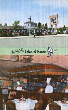 The Colonial House Restaurant, Oxnard, California Oxnard California, Oil Service, Ruby Slippers, Ventura County, Vintage Florida, House Restaurant, Gold Coast, Colonial, Nostalgia