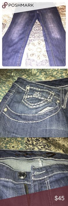 BNWOT Seven7 Jeans Size 22 I have a pair of boot cut Seven7 jeans size 22. These jeans look brand new! Curvy ladies if you haven't tried this brand be prepared to fall in love! Best fitting jeans ever with just enough stretch! Seven7 Jeans Boot Cut
