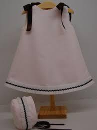 Resultado de imagen de vestido niña recien nacida