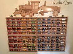 Designed in Brisbane Australia by WoodenWares Matchbox Car Storage, Matchbox Cars, Fa, Brisbane Australia, Model Car, Craft Gifts, Hot Wheels, Baby Kids, Room Decor