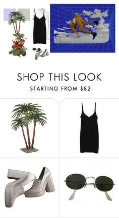 """TAGGED"" by skins-uk ❤ liked on Polyvore featuring Splendid, Zara, PLANT and Ray-Ban"