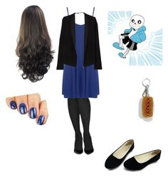 """date with sans"" by katiegem123 on Polyvore featuring Commando, WearAll, American Vintage and House of Holland"