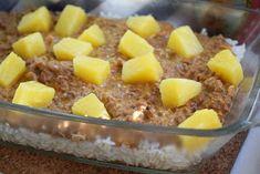 Smaskelismaskens: Köttfärslåda med ananas