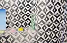 Aïon - 2014 100x155 cm, huile, acrylique, et spray sur toile