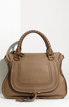 Chloé 'Marcie Large' Leather Shoulder Bag | Nordstrom