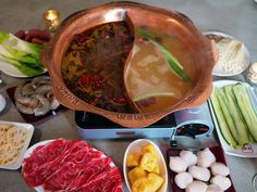 A complete guide to making Sichuan mala hot pot (mala huo guo) from scratch, using beef tallow as it's done in Chengdu and Chongqing. Beef Kabob Recipes, Soup Recipes, Soup Base Recipe, Pot Recipe, Beef Tallow, Beef Kabobs, Recipe From Scratch, Hot Pot, Cooking