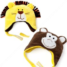 Reversible Lion/Monkey Hat