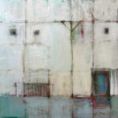 White houses II / Acrylic Painting/ Original Painting/ 40 cm x 40 cm White Houses, Original Paintings, Sculptures, Illustration Art, Artsy, This Or That Questions, The Originals, Abstract, Canvas