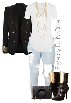 """Untitled #2142"" by stylebydnicole ❤ liked on Polyvore"