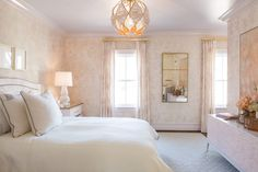 Our room in the DC Design House. Serene, soothing, organic, and a little pink...