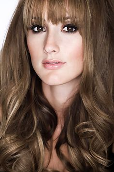 Bree Turner, love the style of her hair!