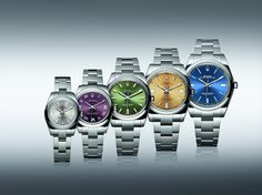 Rolex Oyster Perpetual 2015 collection at Baselworld 2015.