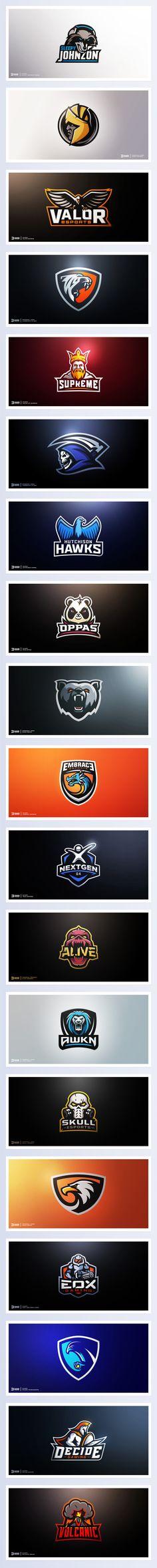 Logo Folio 2016 | Sports, Gaming, & Esports on Behance