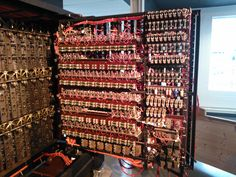"Bombe machine decode the secret messages from the German's Enigma machine. ""It was like getting a German newspaper every day."""