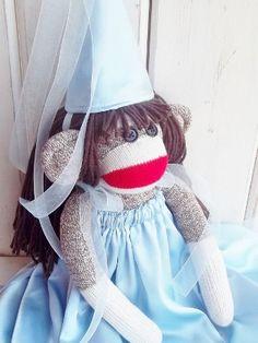 Sock Monkey Princess