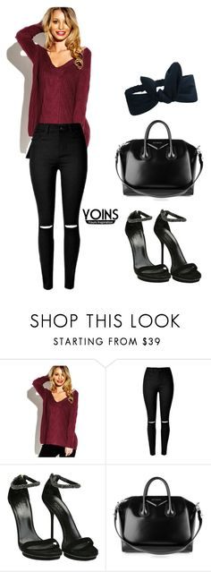 """""""Yoins #25"""" by edita-m ❤ liked on Polyvore featuring Gucci, Givenchy, yoins, yoinscollection and loveyoins"""