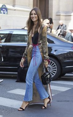 The trend for pyjamas-as-daywear shows no sign of waning. Silk trenches, or jackets that moonlight as dressing gowns, are a brilliant way to add a louche element to your look, as shown by Giorgia Tordini                                                                                                                                                      More