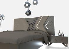 Wardrobe Design Bedroom, Bedroom Furniture Design, Modern Bedroom Design, Master Bedroom Design, Bed Furniture, Bed Headboard Design, Headboards For Beds, Wood Bed Design, Sofa Design