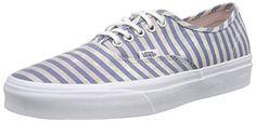 Vans Authentic, Unisex-Erwachsene Sneakers, Mehrfarbig (stripes/navy), 38 EU - http://on-line-kaufen.de/vans/38-eu-vans-authentic-unisex-erwachsene-sneakers-71
