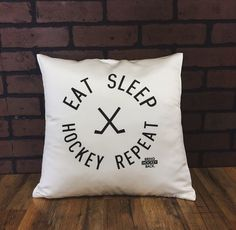 Eat, sleep, hockey,