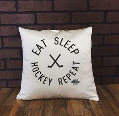 Eat, sleep, hockey, repeat!