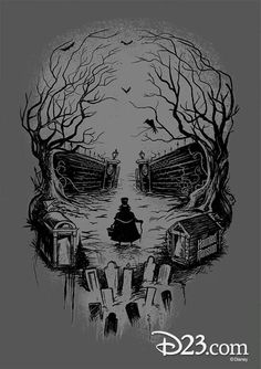 Disney's Haunted Mansion artwork
