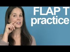 How to Practice the Flap T -- American English Pronunciation