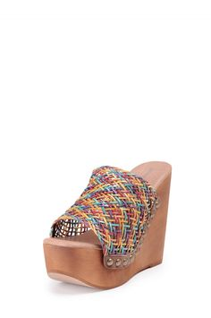 Jeffrey Campbell Shoes BREEZE-2 Platforms in Bright Multi